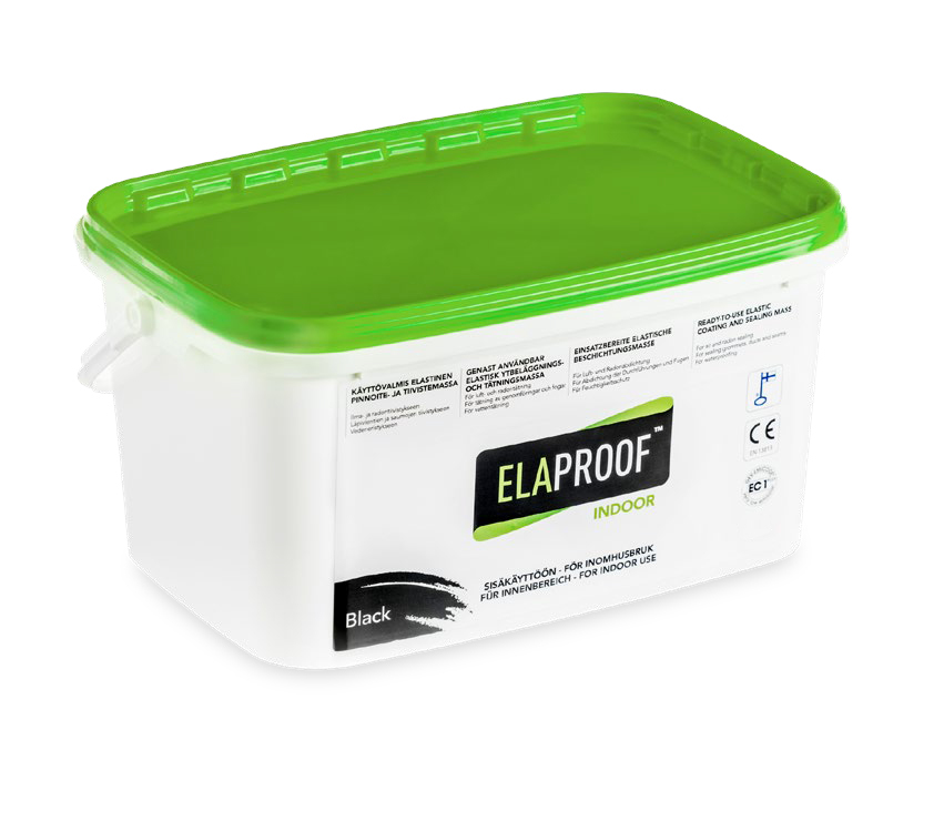 ElaProof Indoor black 5 liter.