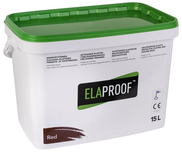 ElaProof H 15 liter red.