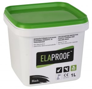 ElaProof H 1 liter black.