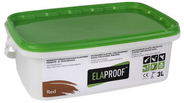 ElaProof H 3 liter red.